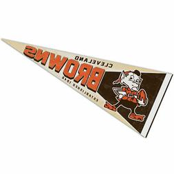 Cleveland Browns Retro Vintage Logo Pennant Flag