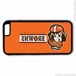 CLEVELAND BROWNS SAMSUNG GALAXY & iPHONE CELL PHONE HARD CAS