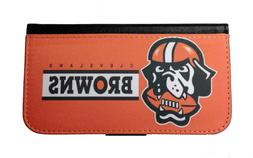 CLEVELAND BROWNS SAMSUNG GALAXY & iPHONE CELL PHONE CASE LEA