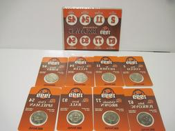 Cleveland Browns Set of 8 Collectible Coins - Giant Eagle