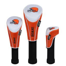 Cleveland Browns Set of Three Headcovers