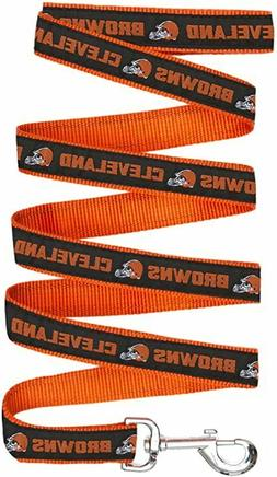 CLEVELAND BROWNS SPORTS Dog Pet Lead Leash NEW