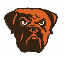 Cleveland Browns Sticker Football Decal Die cut for Windows