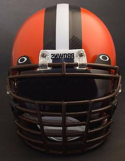 CLEVELAND BROWNS Schutt Super Pro BIG GRILL Football Helmet
