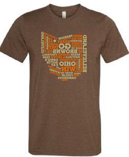 Cleveland Browns T Shirt BAKER MAYFIELD OHIO T Shirt Super S