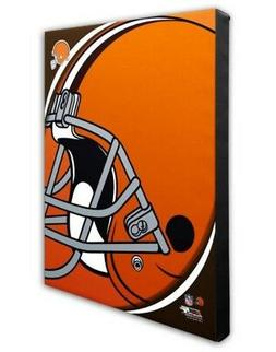Photo File Cleveland Browns Team Logo Canvas Print Picture A