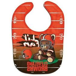Cleveland Browns Teddy Bear Baby Bib FREE SHIPPING