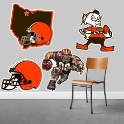 Cleveland Browns Wall Art 4 Piece Set Large Size------New in