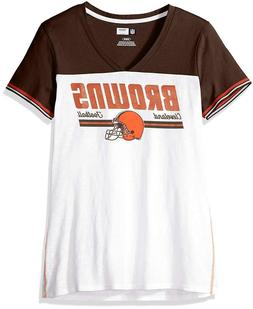 NFL Team Apparel Cleveland Browns Winning Attitude Fashion T