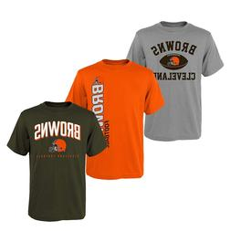 Cleveland Browns NFL Youth Boys Pick Color Short Sleeve Team