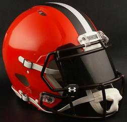 ***CUSTOM*** CLEVELAND BROWNS Full Size NFL Riddell SPEED Fo