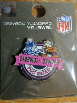 Dallas Cowboys VS Cleveland Browns Game Day Lapel Pin Octobe