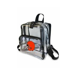 """Football Cleveland Browns Mini Clear Stadium Backpack 10"""" x"""