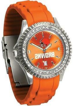 Gametime Cleveland Browns Ladies Sparkle Watch