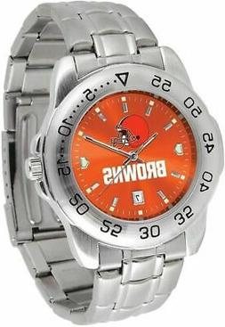 Gametime Cleveland Browns Sport Steel Watch