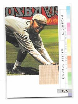 George Sisler 2003 Topps Gallery Game Used Bat #AR-GS St. Lo