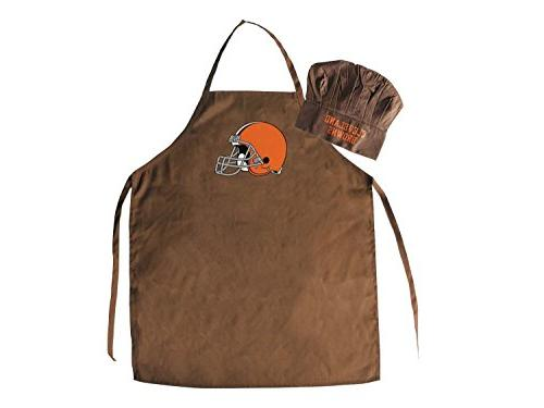 PSG Cleveland Browns Chef Hat and Apron Set