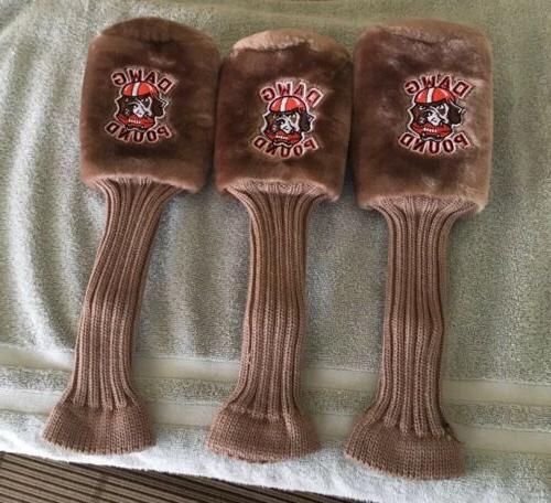 brand new cleveland browns dawg pound golf
