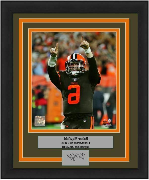 browns baker mayfield nfl football 1st win