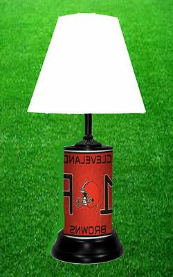 CLEVELAND BROWNS  - NFL LICENSE PLATE LAMP - FREE SHIPPING I