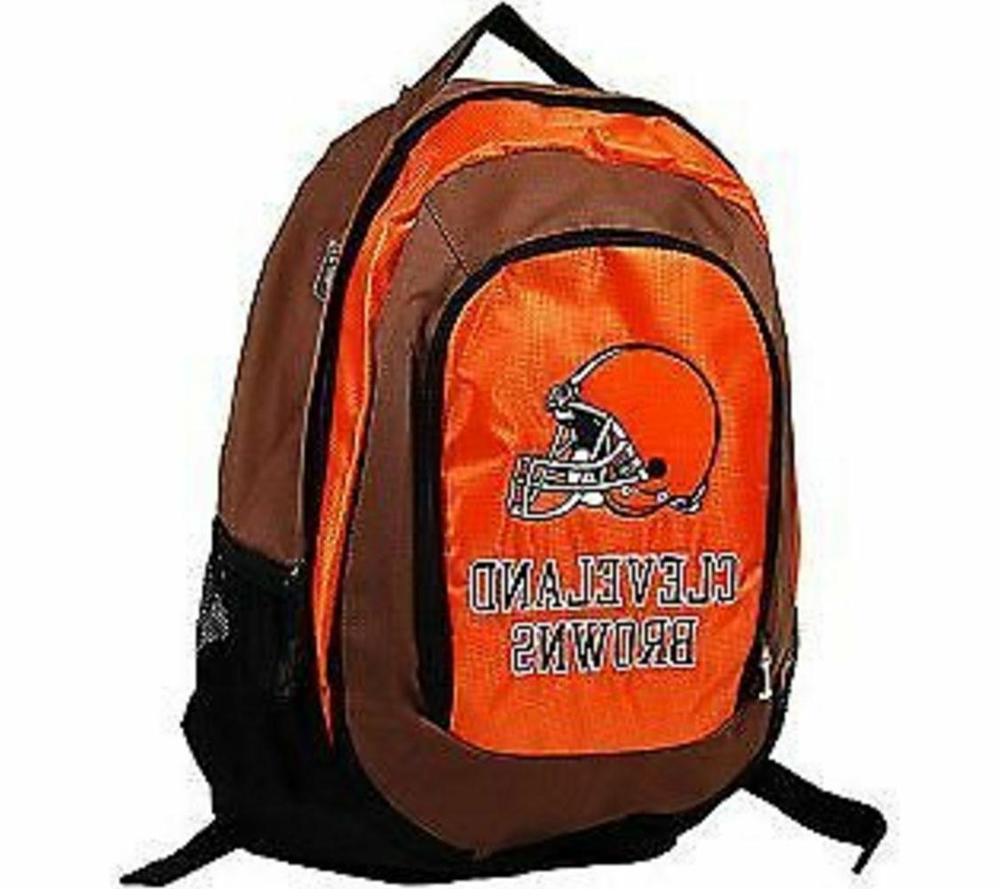 cleveland browns backpack large school bag knapsack