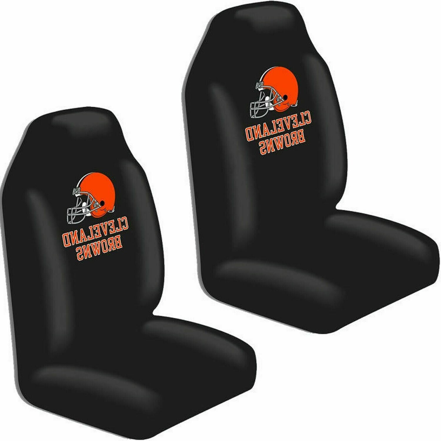 cleveland browns car seat covers high back