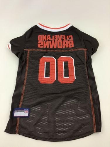 cleveland browns dog jersey for pet 00