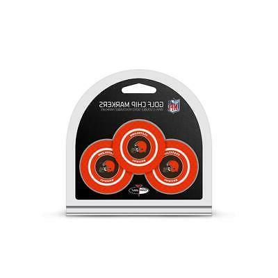 cleveland browns golf chip with marker 3