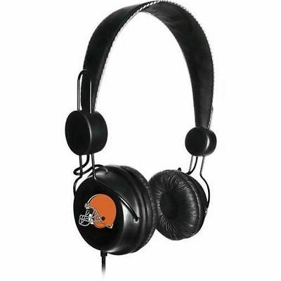 cleveland browns headphones with built in microphone