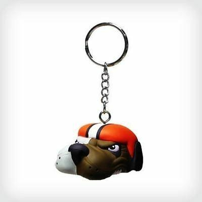 cleveland browns key chain antenna topper foam