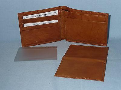 CLEVELAND Leather BiFold Tin Box brown