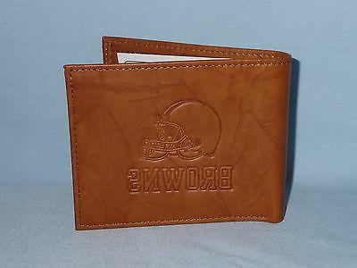 CLEVELAND BROWNS Wallet New Tin 4