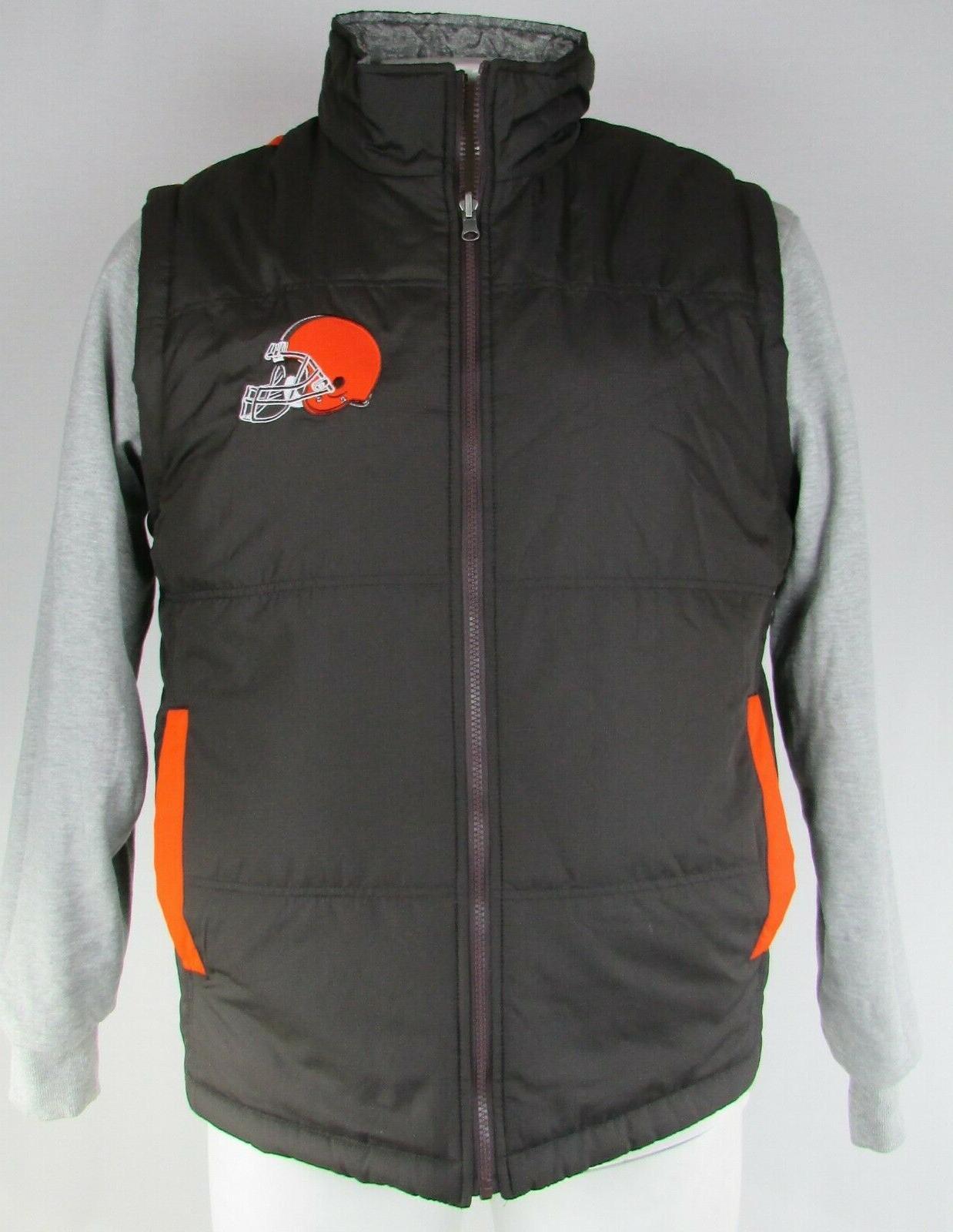 cleveland browns men s reversible jacket