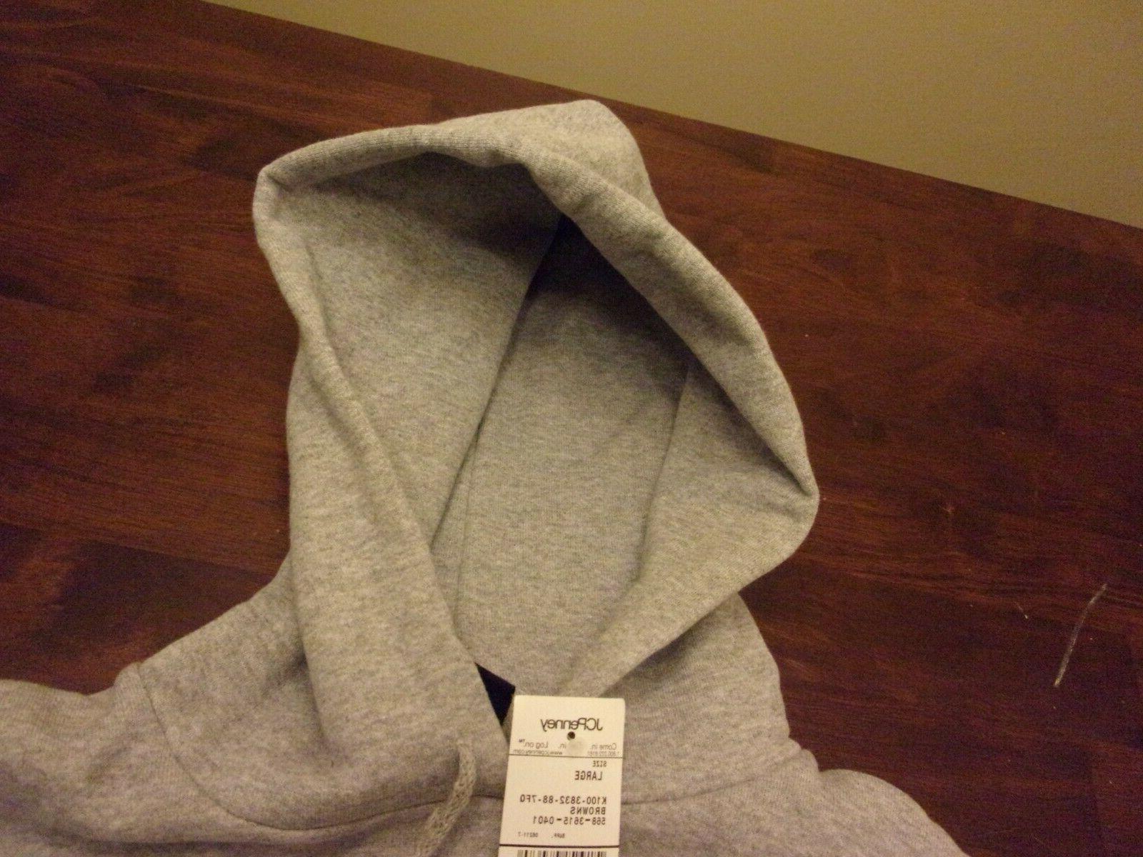 Cleveland NEW mens Large NFL apparel hooded
