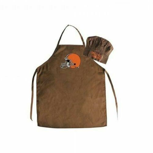 cleveland browns nfl apron and chef s