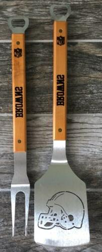 Cleveland Browns NFL Spatula And Fork Set The Sportula Bottl
