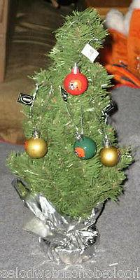 Cleveland Browns Table Top Christmas Tree with 16 Ornaments