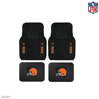 new nfl cleveland browns car truck front