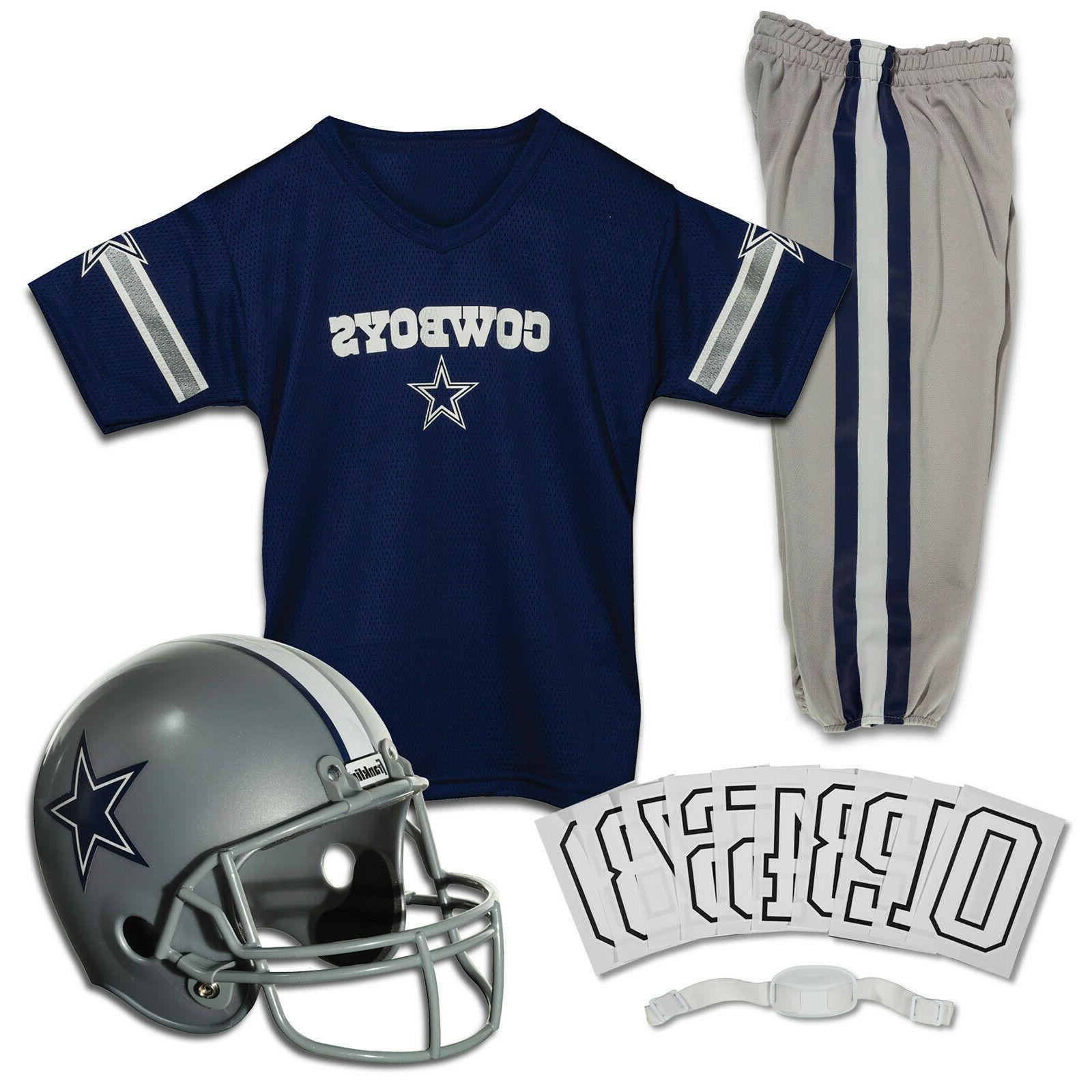 new sports deluxe nfl style youth uniform