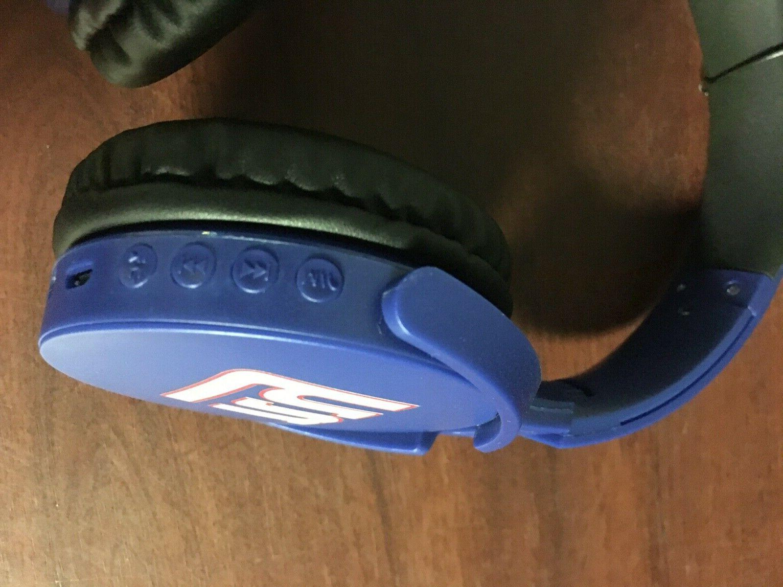 NFL CLEVELAND Bluetooth Wireless Stereo Headphones