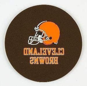 nfl cleveland browns coaster