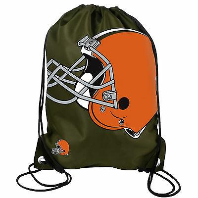 nfl cleveland browns drawstring backpack