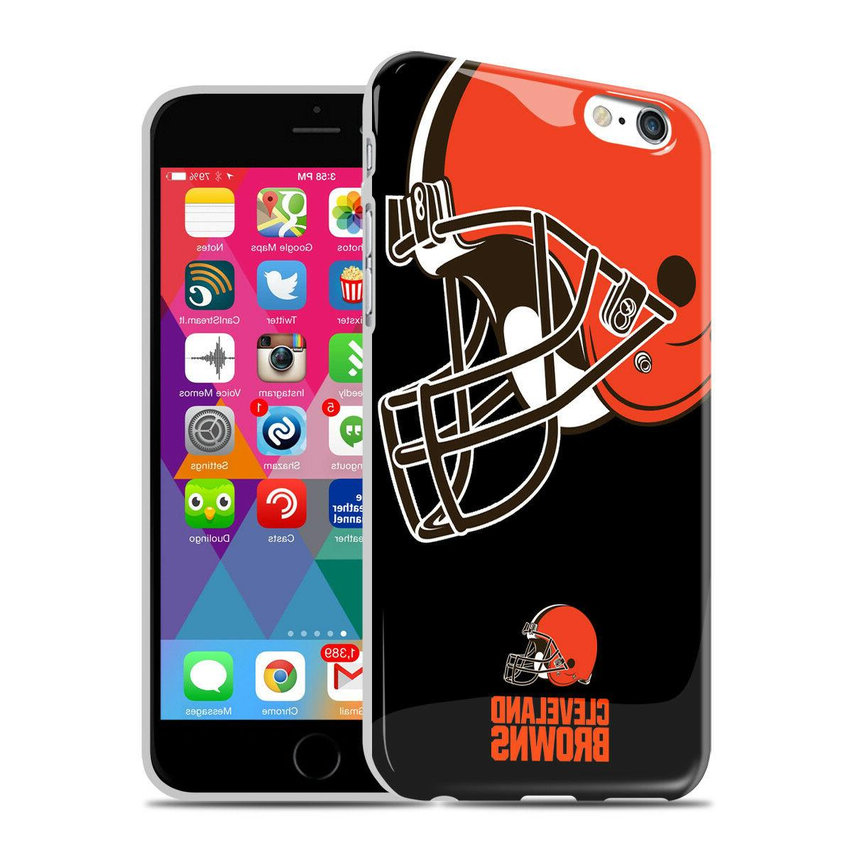 nfl cleveland browns iphone 6 6s oversized
