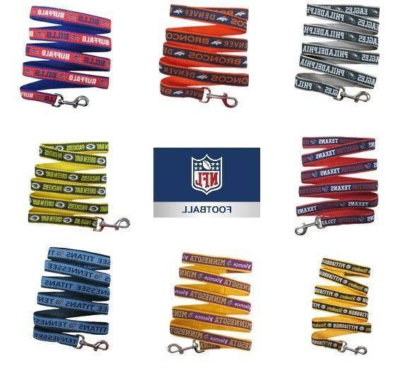 nfl football dog leash pet gear all