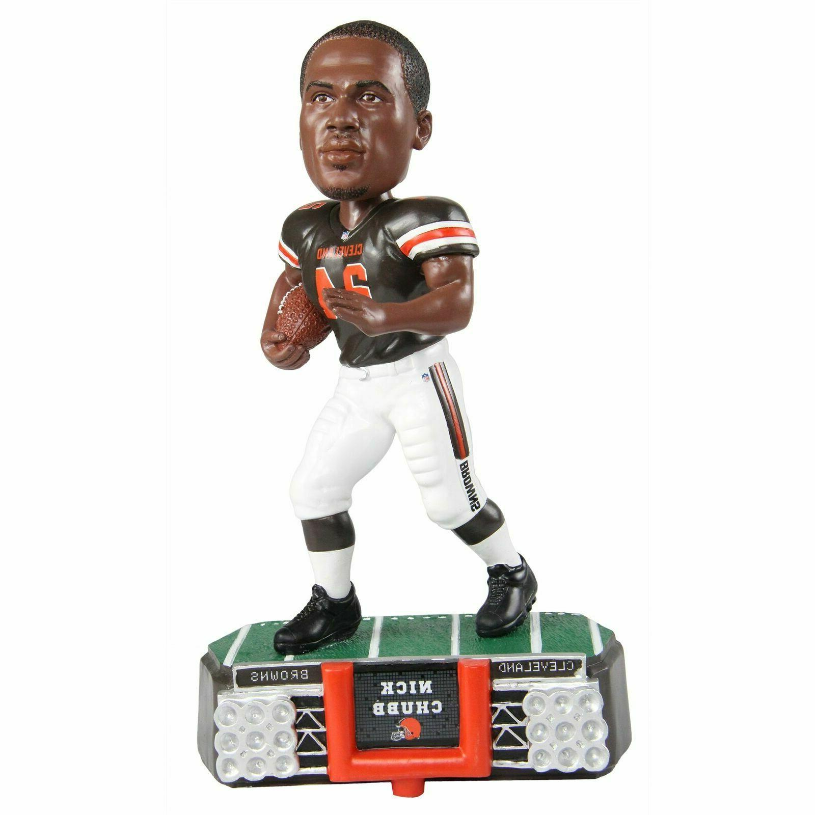 Nick Chubb Cleveland Browns Stadium Lights Special Edition B
