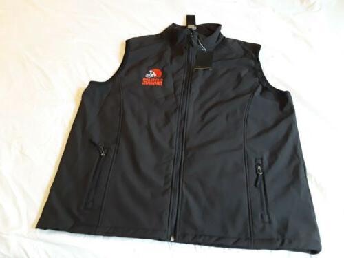 nw cleveland browns nfl team apparel vest
