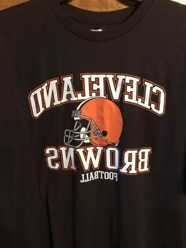 NWT BROWNS T-shirt - 2XL NFL team