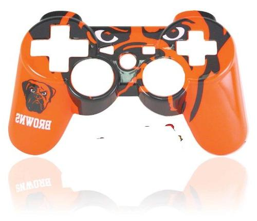 ps3 nfl cleveland controller faceplate