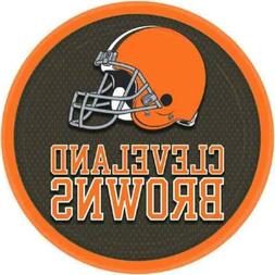 Licensed MLB Cleveland Browns Party Round Luncheon Plates Ta