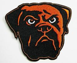 LOT OF 1) NFL CLEVELAND BROWNS FOOTBALL  EMBROIDERED PATCH #